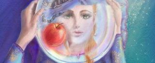 Детская сказка Серебряное блюдечко и наливное яблочко читать детям на ночь, текст онлайн