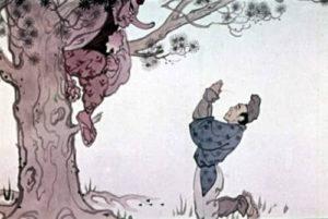 Сказка Веер Тэнгу читать онлайн