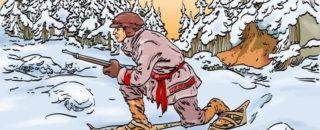 Детская сказка Охотник и его жена: текст сказки читать онланй