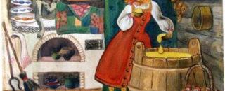 Сказка Лиса Повитуха читать онлайн
