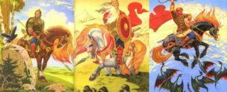 Сказка Медведко, Усыня, Горыня и Дугиня богатыри читать онлайн