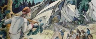 Сказка Мудрая девица и семь разбойников читать онлайн
