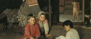 Сказка Сосватанные дети читать онлайн