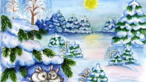 Зимние потешки: большая подборка стишков-потешек для детей
