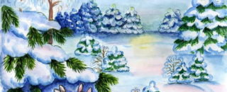 Стихи, загадки, потешки про зиму