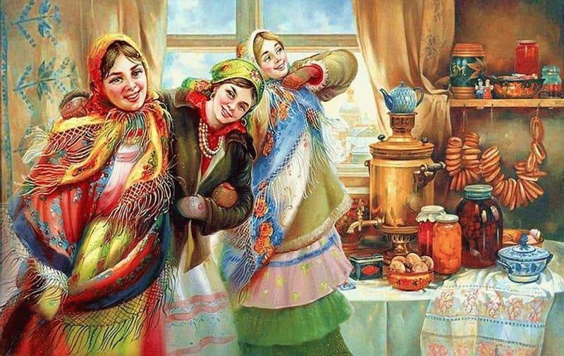 Русские народные потешки и песни