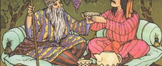 Читать онлайн сказку детскую сказку Мудрый ткач