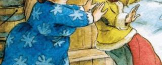 Детская сказка Падчерица читать онлайн народные башкирские сказки