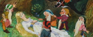 Сказка Белоснежка и семь гномов читать и слушать онлайн или скачать