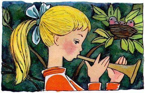 Сказка Дудочка и кувшинчик слушать и читать онлайн