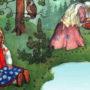 Слушать аудиосказку Баба Яга и ягоды
