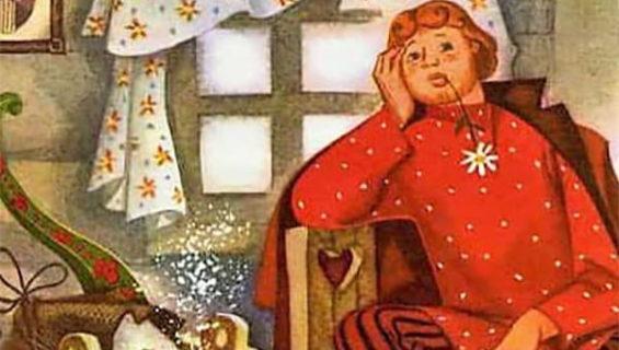 Детская сказка про Иванушку-дарачка