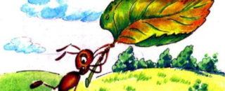 Сказка Как муравьишка домой спешил читать и слушать онлайн или скачать