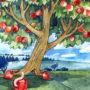 Слушать аудиосказку Волшебное яблочко
