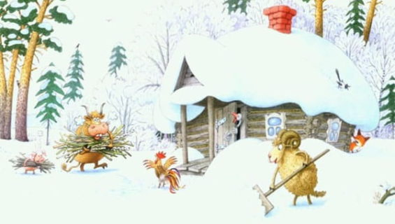 Сказки про зиму читать и слушать онлайн