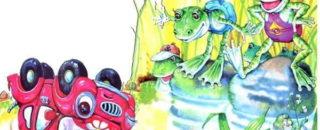 Сказка Автомобильчик Бип читать и слушать онлайн или скачать