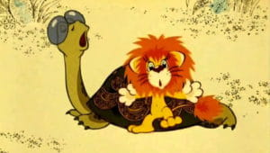 Слушать аудиосказку Как львенок и черепаха пели песенку