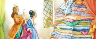 Сказка Принцесса на горошине читать онлайн