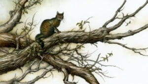 Слушать аудиосказку Кошка, которая гуляла сама по себе