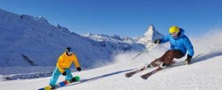 Детские загадки про зимние виды спорта — лыжи и сноуборд