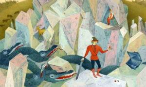 Сказка Хрустальная гора для малышей