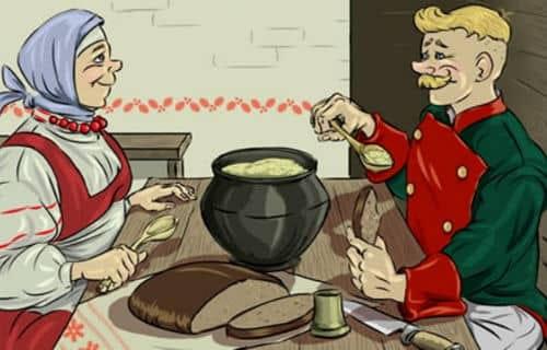 Детская сказка Каша из топора