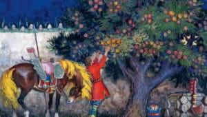 Слушать аудиосказку О молодильных яблоках и живой воде