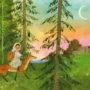Слушать аудиосказку Снегурушка и лиса