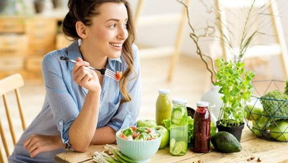 Овощи в женском питании