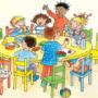 Досвидания, детский сад (Пять лет мыдружною семьей…)