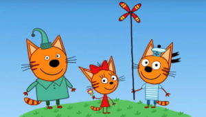 Слушать аудиосказку «Три кота»