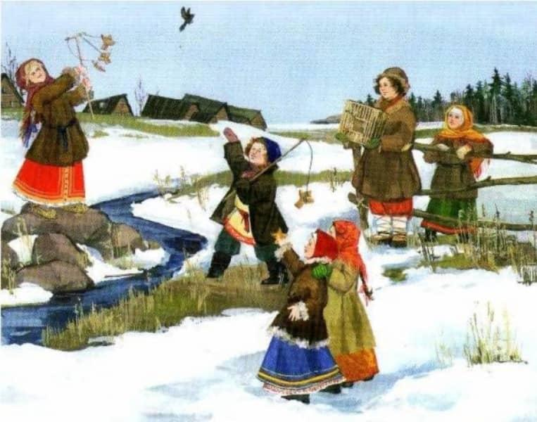 Русские народные прибаутки для детей и школьников