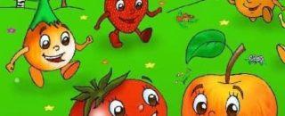 Авторские потешки Кирилла Авдеенко про овощи, фрукты, продукты и животных