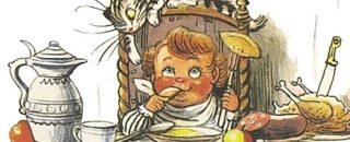 Кушаем с потешкой: подборка сытных стишков-потешек для малышей